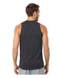 PUMA - Gray Graphic Essential Tank Top for Men - Lyst
