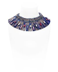 Iosselliani - Blue Ink Me Up Necklace - Lyst