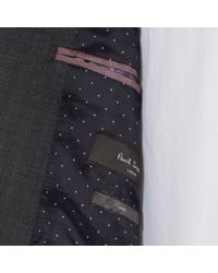 Paul Smith - Gray Men's Charcoal Grey Micro-dot Wool 'soho' Suit for Men - Lyst