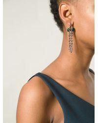 Stephen Webster | Black Sapphire Bow Earrings | Lyst
