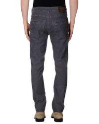 GAUDI - Gray Casual Trouser for Men - Lyst