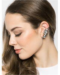 BaubleBar - Metallic Rhaegal Ear Cuffs-gray/hematite - Lyst