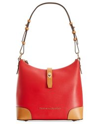 Dooney & Bourke | Red Claremont Hobo | Lyst