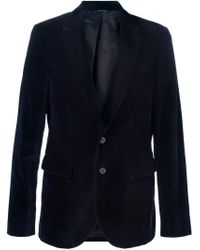 Paul Smith - Blue Two Button Blazer for Men - Lyst