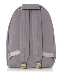 Mi-Pac | Gray Suede Back Pack for Men | Lyst