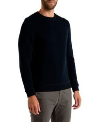 Ted Baker | Blue Deabloe Quilted Jumper for Men | Lyst