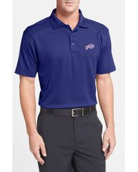 Cutter & Buck | Blue 'Buffalo Bills - Genre' Drytec Moisture Wicking Polo for Men | Lyst