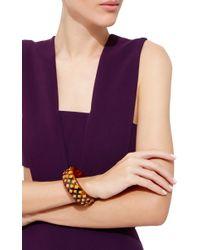 Mark Davis   Multicolor Spessartite Garnet Bakelite Bangle   Lyst