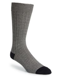 Mr Gray | Green Textile Cotton Blend Socks for Men | Lyst
