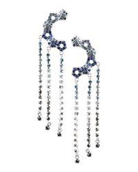 Eddie Borgo - Blue Earrings - Lyst