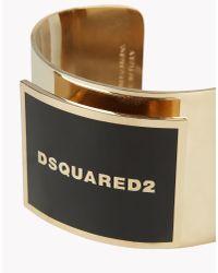 DSquared² - Metallic Armlet - Lyst