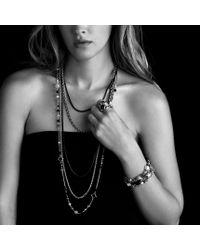 David Yurman | Metallic Cable Rolo Chain Necklace | Lyst