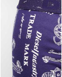 DIESEL | Blue Umkit-boxersocks for Men | Lyst