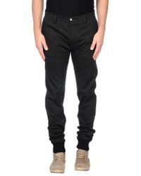 Patrizia Pepe - Gray Casual Trouser for Men - Lyst