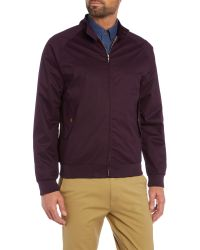 Ben Sherman | Purple The Harrington Jacket for Men | Lyst