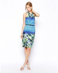 Coast - Blue Steren Dress - Lyst