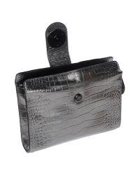 Class Roberto Cavalli - Gray Handbag - Lyst
