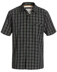 Quiksilver | Black Waterman Kirra Bay Plaid Shirt for Men | Lyst