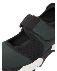 Marni | Green 20mm Neoprene & Nylon Mesh Sneakers | Lyst