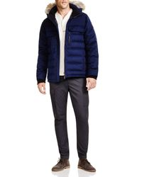 Canada Goose - Blue Chatham Parka - 100% Bloomingdale's Exclusive for Men - Lyst
