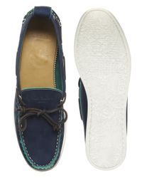 Paul Smith - Blue Aurora Boat Shoes for Men - Lyst