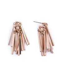 Eddie Borgo - Pink Fringe Earrings - Lyst
