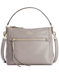 kate spade new york | Gray Cobble Hill Small Harris Shoulder | Lyst