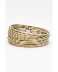 Alor | Gray Coil Bangle | Lyst