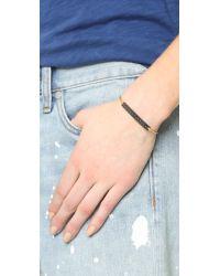 Madewell | Metallic Bam Bam Cartline Bracelet - Vintage Gold | Lyst