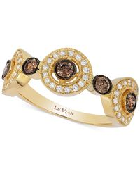 Le Vian | Metallic Chocolatier® Chocolate Deco Estate™ Gold Diamond (1/2 Ct. T.w.) Ring In 14k Gold | Lyst
