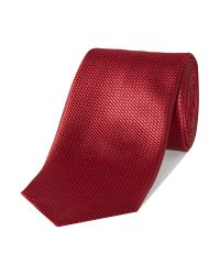Chester Barrie - Red Patterned Tie for Men - Lyst