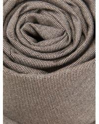 Brunello Cucinelli | Gray Woven Tie for Men | Lyst