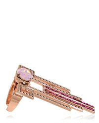 Halaby - Purple Piaf Ring - Lyst
