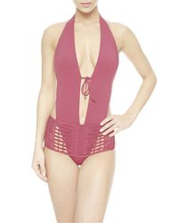 La Perla | Pink Non-wired One-piece | Lyst