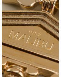 Malibu 1992 - Metallic 'apollo' Big Temple Opera Necklace - Lyst