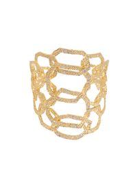 Isharya | Metallic Goddess Link Cuff | Lyst
