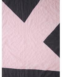 Bernhard Willhelm - Pink Arrow Print Scarf - Lyst