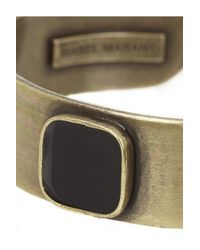 Isabel Marant - Metallic Yuhei Gold-Tone And Resin Cuff - Lyst