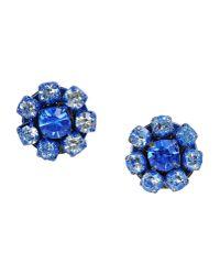 Rada'   Blue Earrings   Lyst