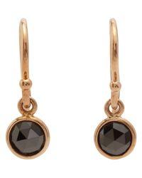 Finn - Metallic Diamond Drop Earrings - Lyst