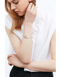 Vivienne Westwood   Metallic Mini Bas Relief Bracelet In Gold   Lyst