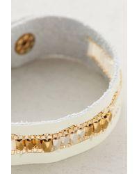 Anthropologie - White Caye Bracelet - Lyst