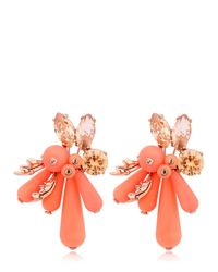 EK Thongprasert | Orange Flower Silicone Earrings | Lyst