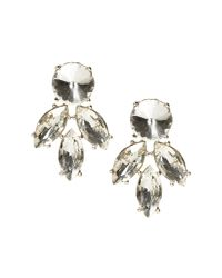 Banana Republic - Multicolor Sparkle Stud Earring - Lyst