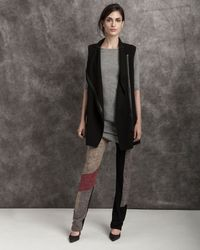 Exclusive For Intermix - Gray Merino Wool Sweater Dress - Lyst