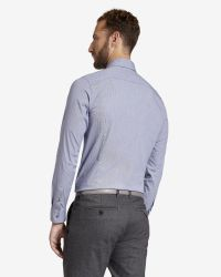 Ted Baker - Blue Micro Checked Dobby Shirt for Men - Lyst