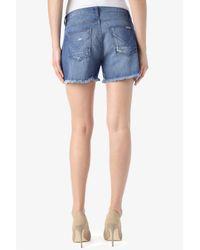 Hudson Jeans - Blue Libertine Boyfriend Short - Lyst