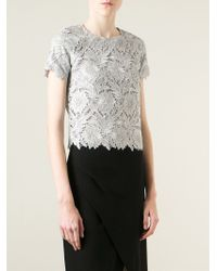 Ermanno Scervino | Metallic Macrame Top | Lyst