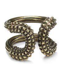 Giles & Brother - Metallic Athena Ring - Lyst
