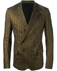 Haider Ackermann - Gray Striped Two-Piece Suit for Men - Lyst